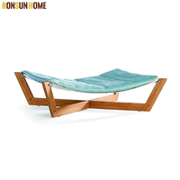 New Fashion Plywood Dog Hammock Bed Discount Dog Beds Flat Pack Cat Beds for Sale