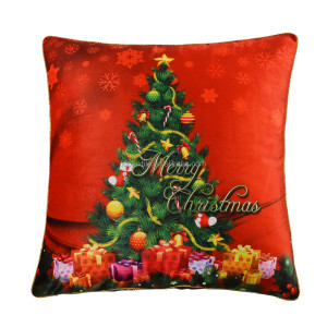 Hot Sale100% Polyester Short Velvet Sofa Cushion Covers Decorative Christmas Cushion