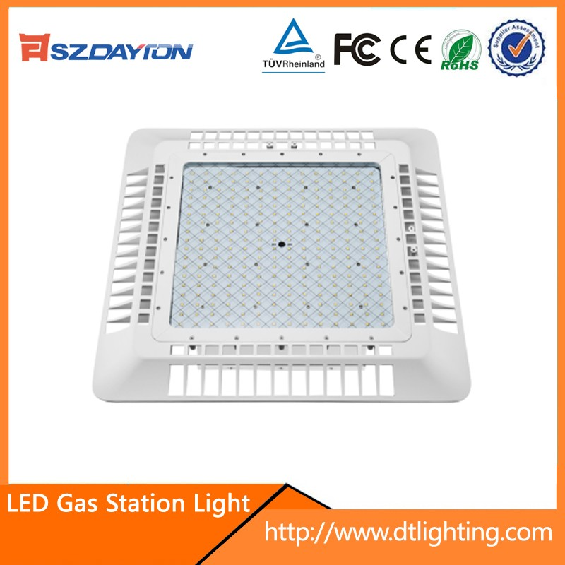 2017 Lastest led gas station canopy lights ngv gas station lights 150w 5 years warranty