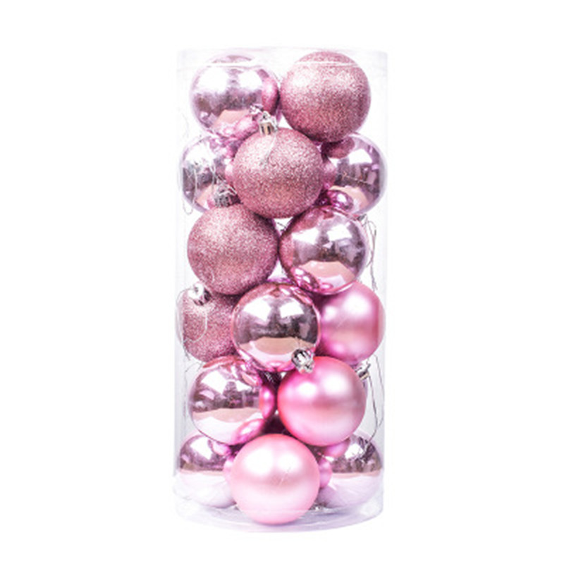 Wholesale Plastic Christmas Tree Hanging Ball Ornament Home Party The Mall Hanging Decoration Christmas Ball