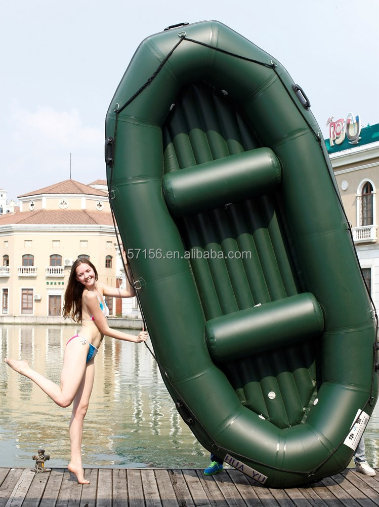 whitewater inflatable rafting / drifting river boat