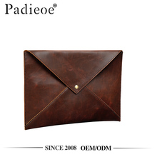 Padieoe PDA342-Y PU envelop design men hand clutch bag