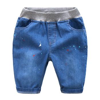 a21fa3833 Herramienta vaqueros mayorista niños moda Pantalones diseño medio pantalones  para niño