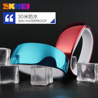 Silicone material LED touch screen watch new design wrist watch