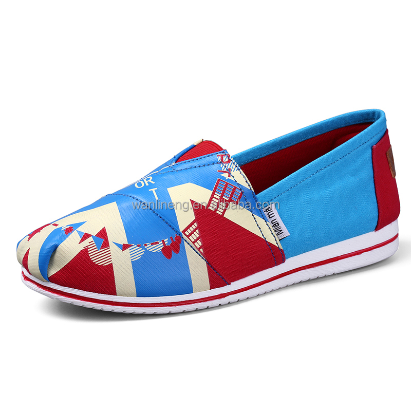 2016 Spring Presell design high quality casual canvas shoes