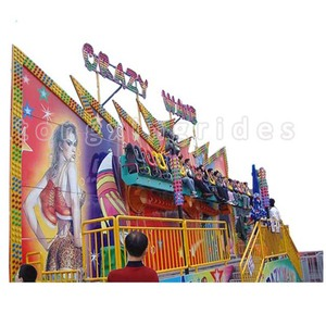 Theme park new products equipment outdoor carnivel amusement rides rock blouses sit for sale