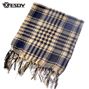 ESDY Tactical Windproof Shemagh Desert ARAB Scarves Hijabs Military Scarf