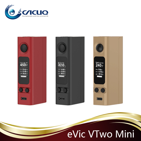Joyetech new launched evic VTwo mini 75w mod updated from evic vtc mini 75 W