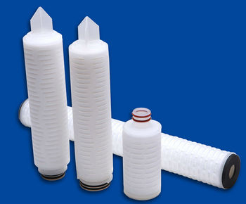 High Effective 0.45 um PP pleated membrane cartridge filter used after filter press for coconut oil