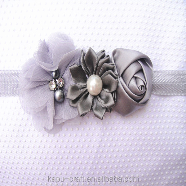 Lastest Nice Baby Girl Flower Headband /Kids Hair Accessories