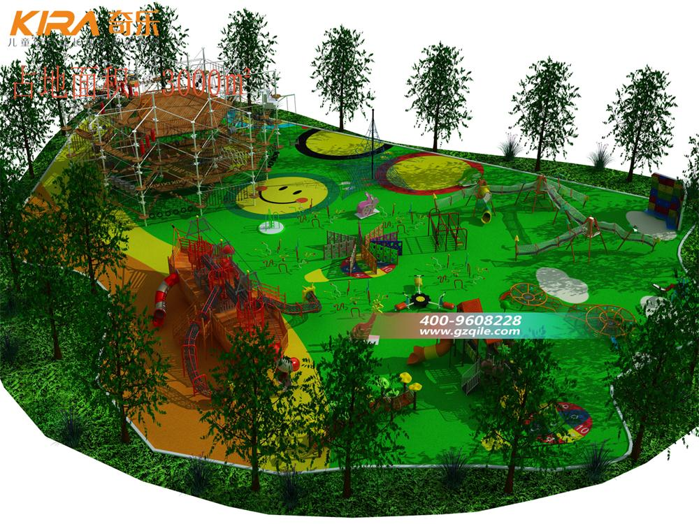 Teambuilding Obstacle Outdoor Ropes Course Adventure - Buy High Quality Outdoor Ropes Course