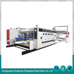 China OEM auto box packing machine slotting die-cutting machinery