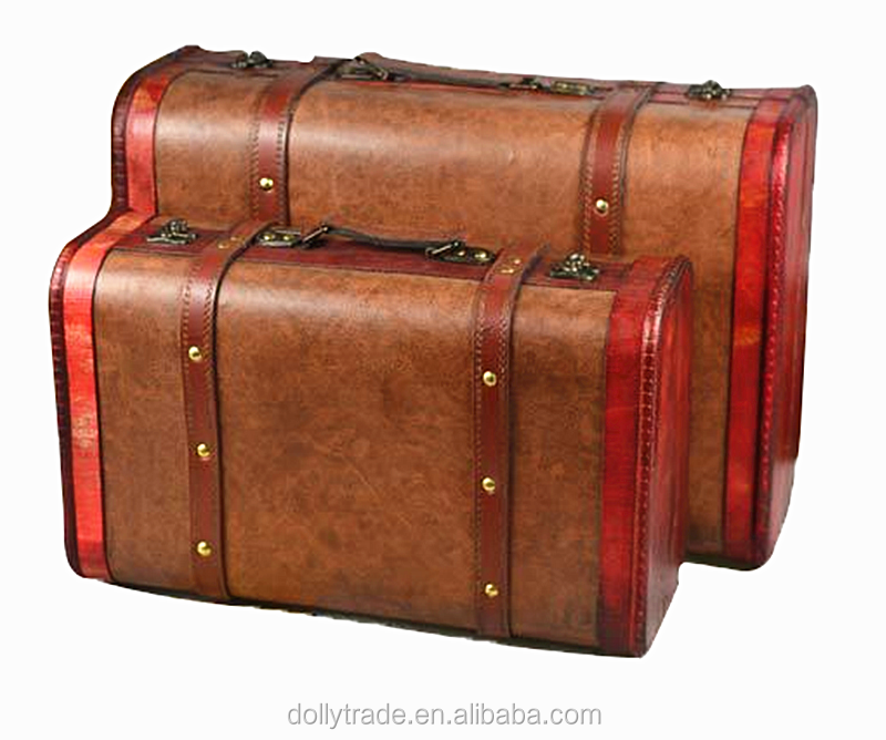 Retro photographic props suitcase living room decorative suitcase