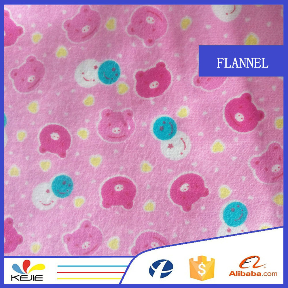 2015 new 100% cotton printed flannel fabric to Nepal