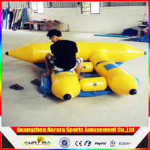 New Water Recreation Equipment Inflatable Flying Water Sled Inflatable Boat Inflatable Sea Banana Boat Factory Customized