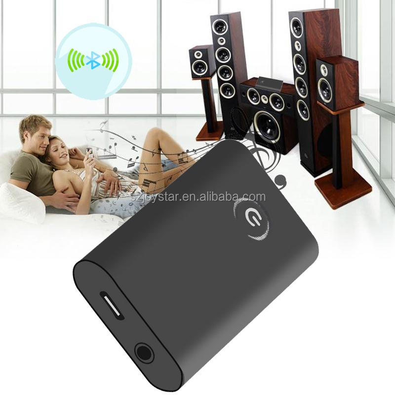 B9 Mini Bluetooth Adapter Wireless 2-in-1 Audio Transmitter & Receiver Support Connection with 2 Bluetooth Devices in Same time