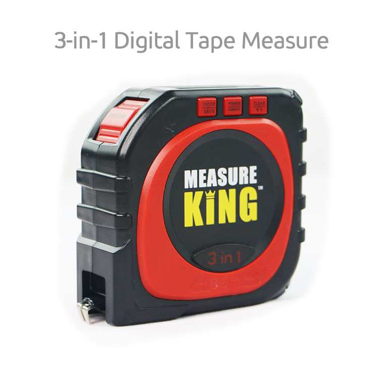 <strong>Measure</strong> King 3-in-1 Digital Tape <strong>Measure</strong>, As Seen on TV Laser <strong>Measuring</strong> Tape,