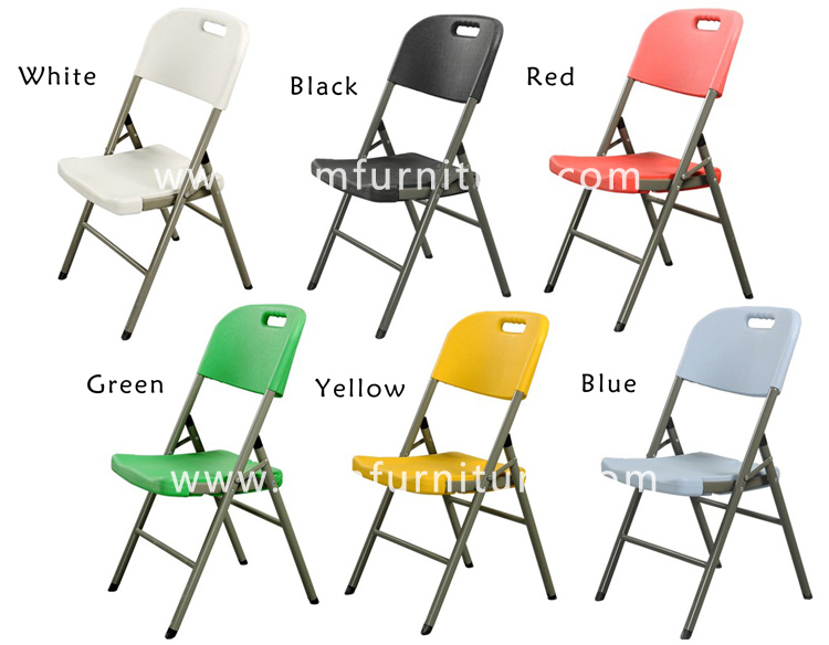 Guangdong foshan manfacturer wholesale plastic folding chair