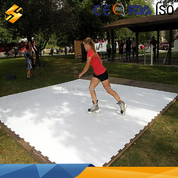 Perfect Self Lubrication Outdoor Synthetic Ice Skating