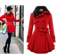 plus size 4xl Women's Winter Coat Long Wool Jacket winter coats womens clothes Thick Coats
