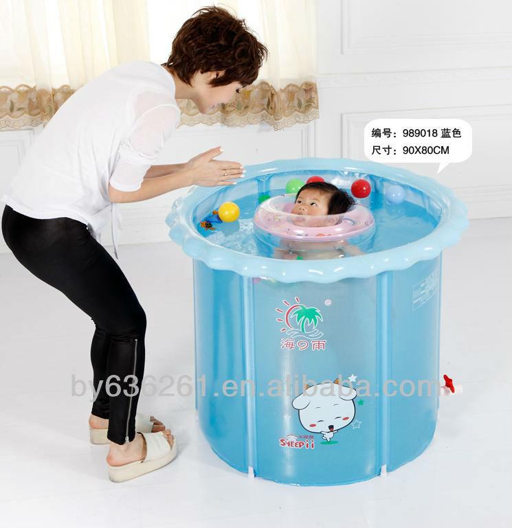 Inflable port til peque o beb piscina de pl stico duro for Piscina pequena bebe