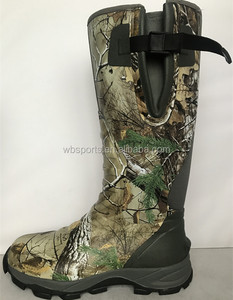 Camo Waterproof Cheap Neoprene Hunting Wellington Muck Boots