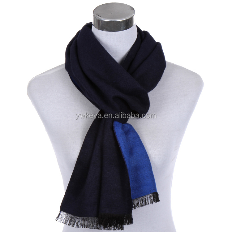 Yiwu Super Soft Cashmere Feel Double sided color rayon scarf 12 colors