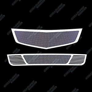 2009-2010 Acura TSX Stainless Steel Mesh Grille Grill Combo Insert