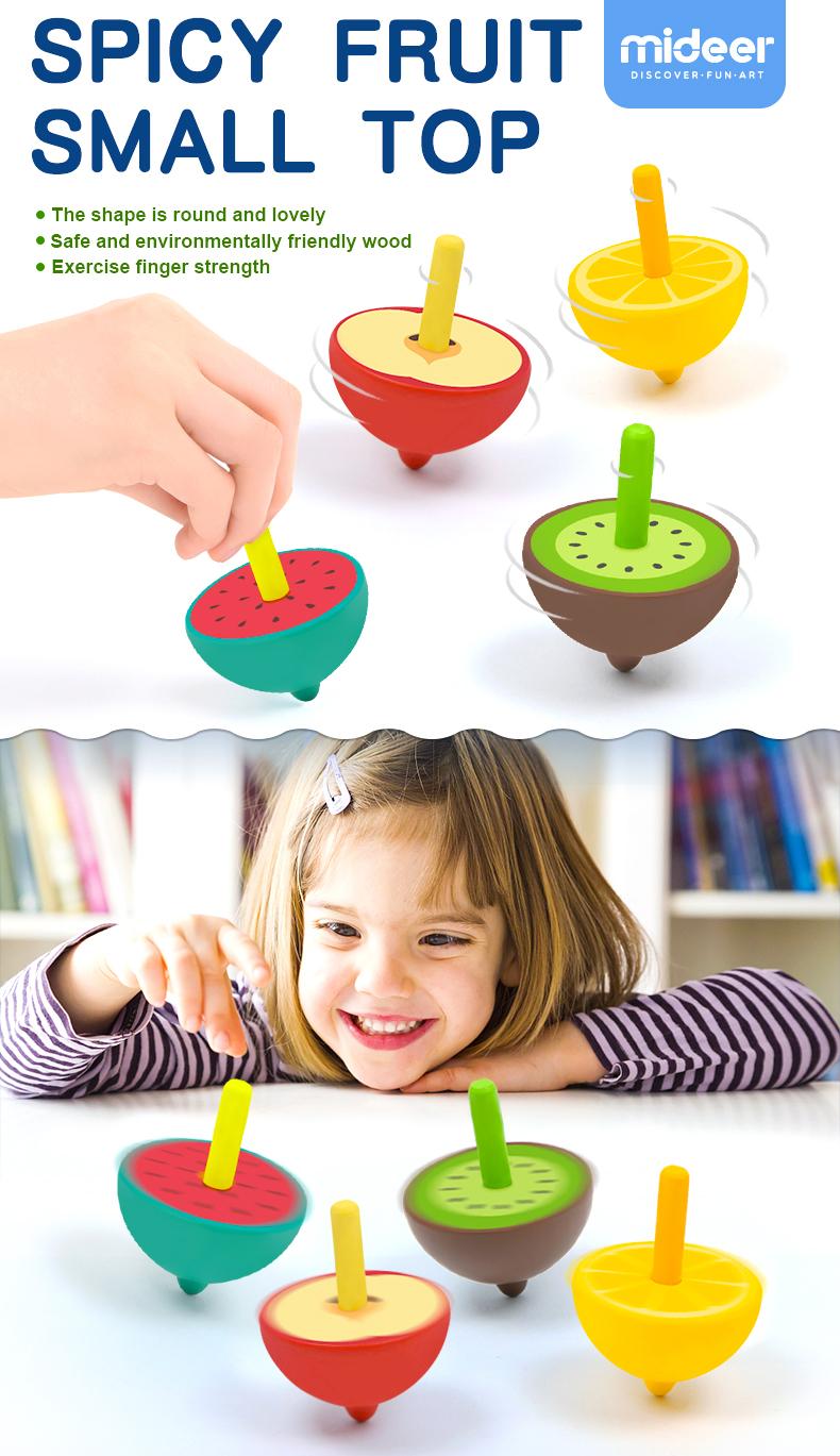 Mideer Mini Tops-watermelon&apple&lemon&kiwifruit ...