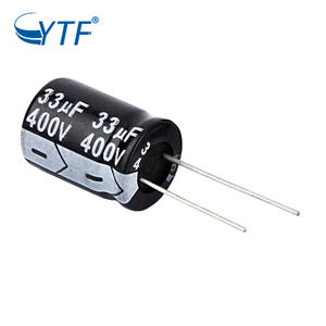 Photo Flash General Purpose 33uF 400V Aluminum Voltage Rating Electrolytic Capacitor Kit