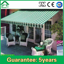 Economic Garden Prefab Remote Control Retractable Awning For Sale