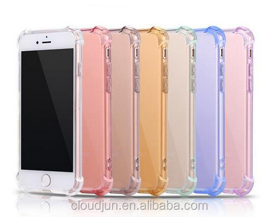For iPhone 5 5S se Hybrid Rubber Shockproof TPU Clear Back Cover Transparent Case