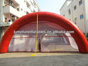 Paintball bunker field tent inflatable PVC tent for laser tag games