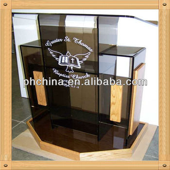 An-c503 European Design Factory Sell Clear Church Pulpit Designs ...