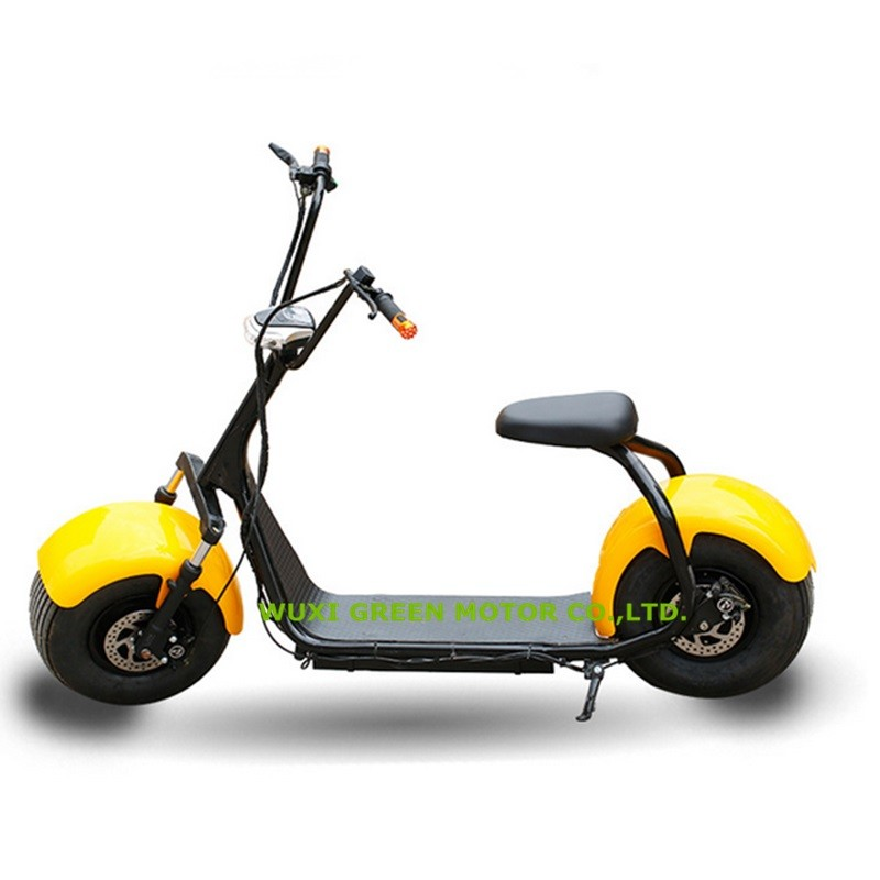 2016 mode lectrique scooter citycoco 2 grosses roues. Black Bedroom Furniture Sets. Home Design Ideas