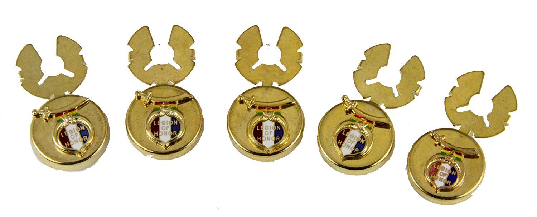 dd8dc7617c0 Get Quotations · 4031785 Legion of Honor Button Covers Shrine LOH Legion  Shriner Formal