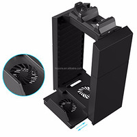 Disk Holder For Console Cooling Fan Vertical Stand Ps4 Playstation ...