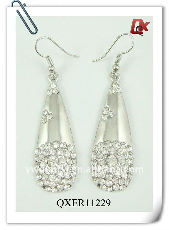 Fashion long drop earrings (QXER11229)