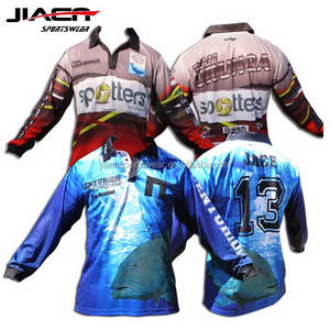2018 latest design long sleeve quick dry customize tournament wholesale fishing shirts,wholesale custom fishing jersey