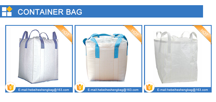 China leverancier PP FIBC Bulk bag lege cement zak