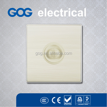 aluminum panel, silver color body sensor switch,electrical lever switches