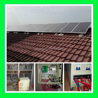 High Performance off Grid Solar Panel System 6KW Fit For Independent Energy Supply / residential solar panels cost