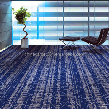 Fireproof Carpet Tiles For Bank Conference Room Office