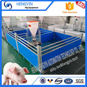 Low price pig raising equipment piglet nursery satll/weaner cage for sale