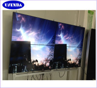 With Samsung led hd display 3x3 LCD DID video wall walls 46 inch 5.3mm seamless tv wall