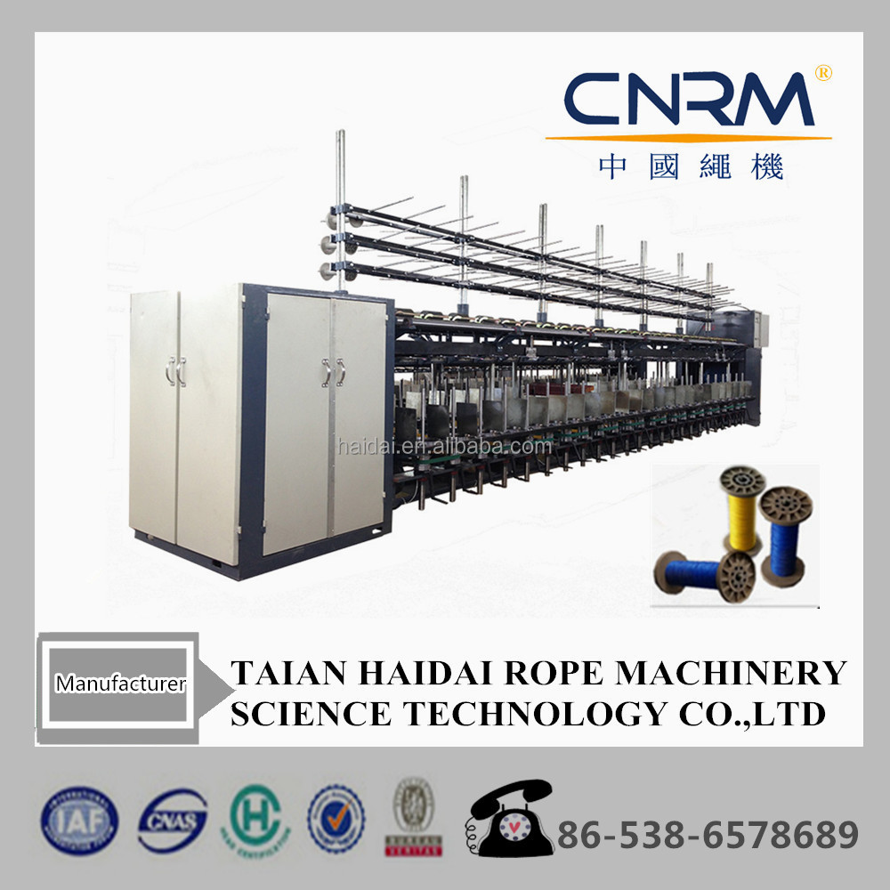 High capacity 0.5mm-4mm Cotton rope twisting making machine for mop/baler twine
