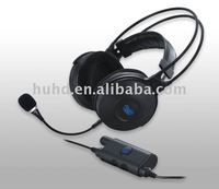 5.1 surround sound channel DVD & gaming headset with 8-driver built-in