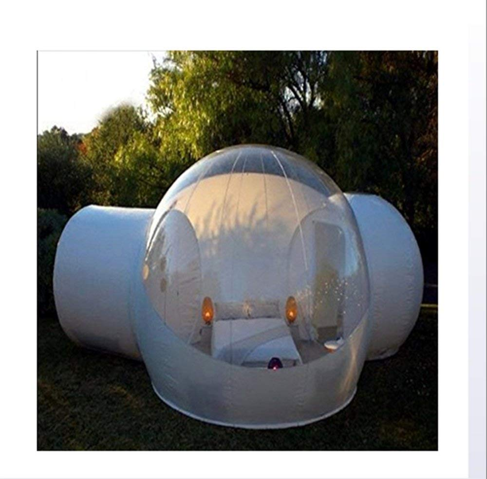 5a49b150879 Get Quotations · Outdoor Tunnel Backyard Transparent Air Dome Tent