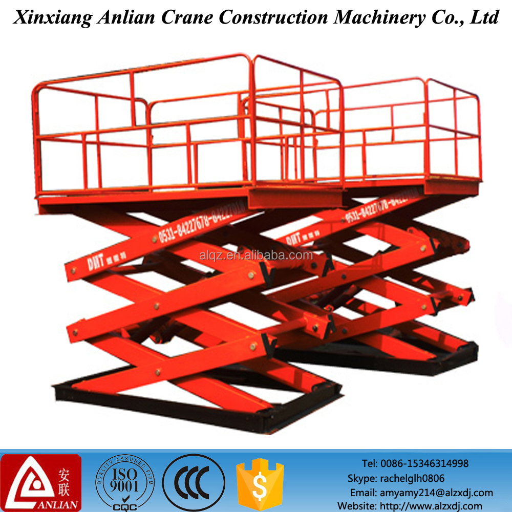 Hot Sale Self Profelled Electric Scissor Lift Hydraulic Platform