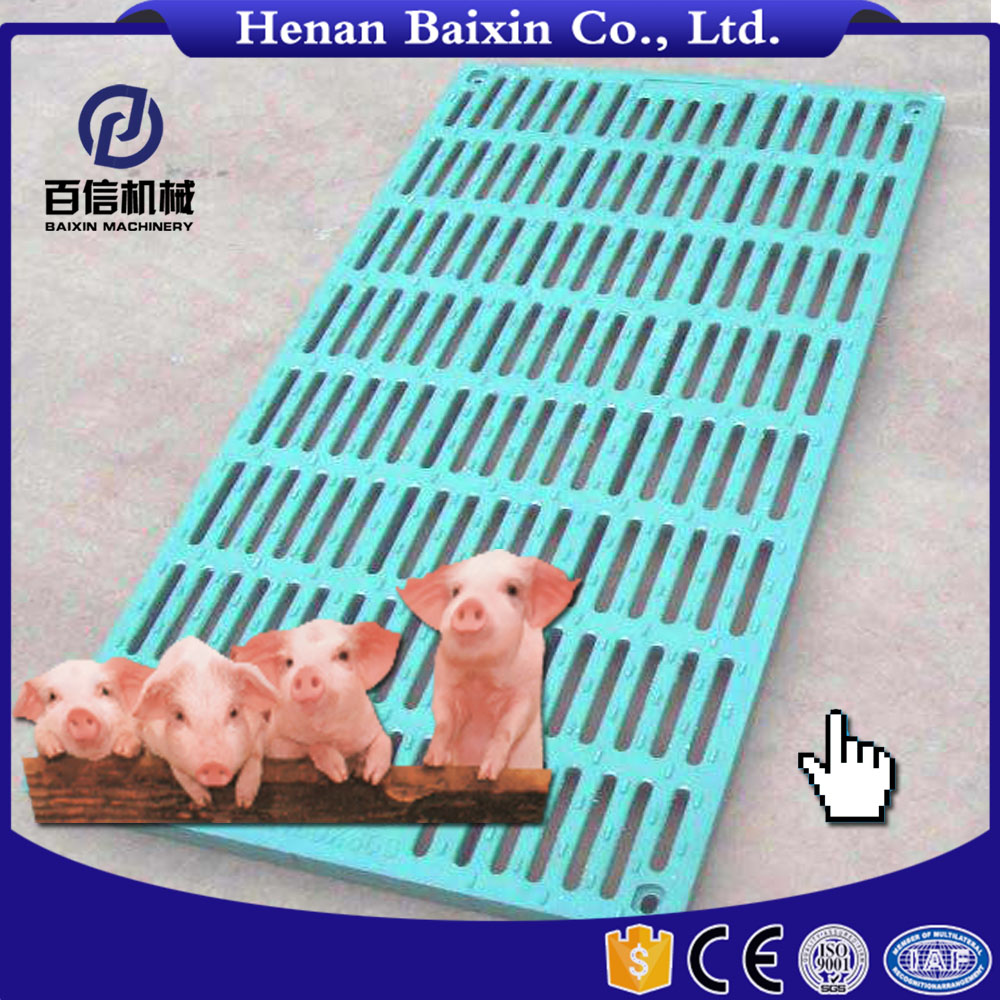 Poultry Slated Floor Pig Farm Equipment Slat Flooring With Manufacturer